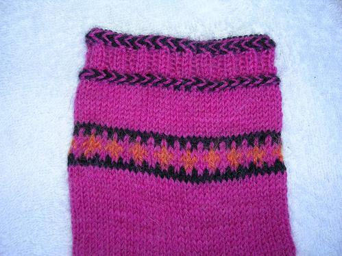 Estnisk flätkant (Merikes Socks)