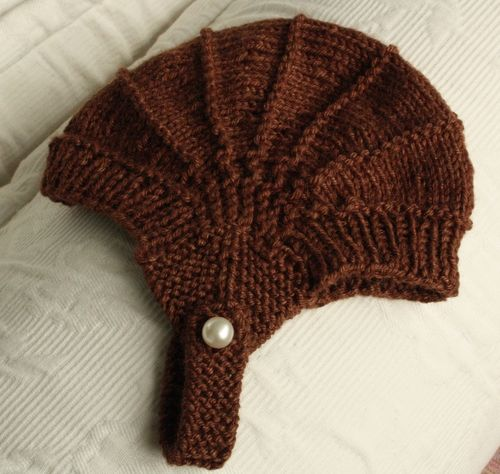 Aviatrix Baby Hat