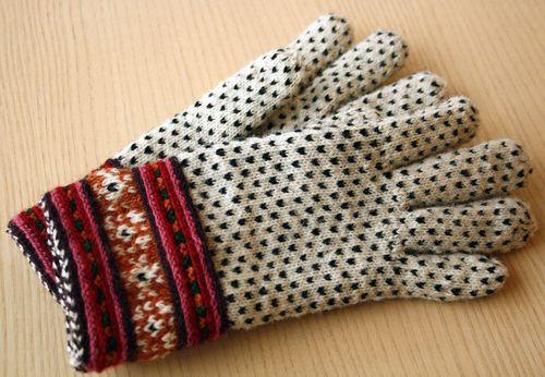 Gloves from Muhu Island