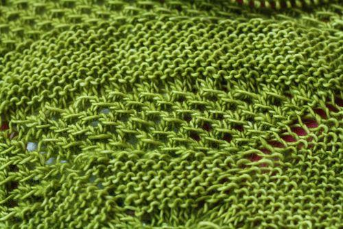 Green Beryl Shawl