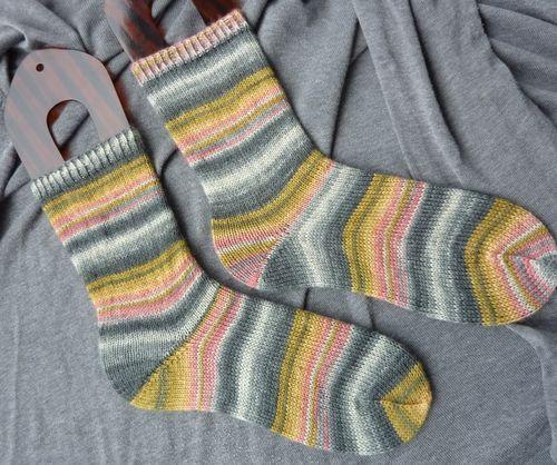 Sockor med jojohäl