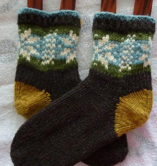 Tjocka sockor