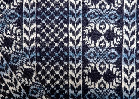 Tröjan från Lerwick - närbild